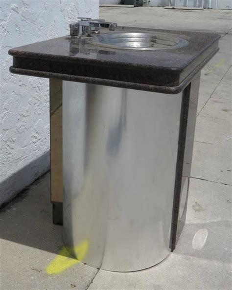 vintage sherle wagner sink vintage sherle wagner vanity sink black granite top with