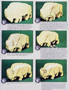 Bison Carving - Wood Carving Patterns • WoodArchivist