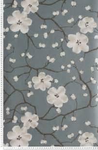 Echantillon Papier Peint Castorama by Papier Peint Poppy Bleu Fum 233 Tiffanie Papier Peint