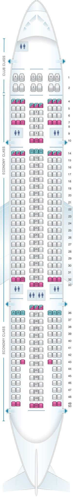 selection siege air transat seat map air transat airbus a330 200 seatmaestro
