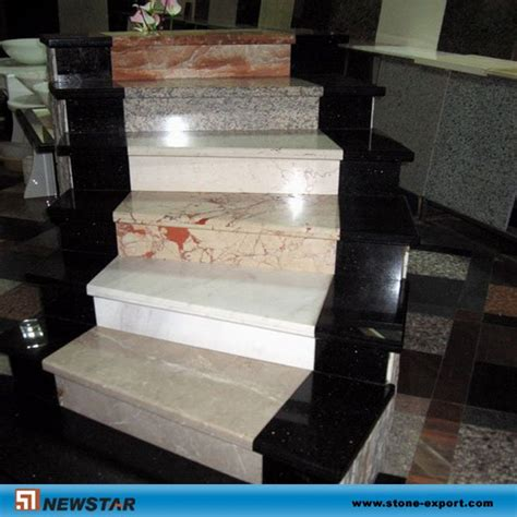 granite and marble stair treads