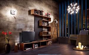 Hifi Regal Selber Bauen : dunkles tv board selber bauen anleitung von hornbach ~ Bigdaddyawards.com Haus und Dekorationen
