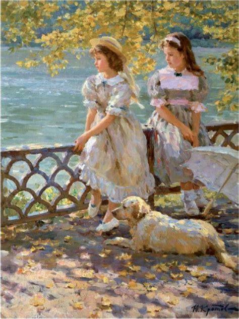 yuri krotov  impressionist figurative painter