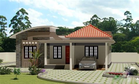 three home plans beautiful low cost 3 bedroom home plan in 1309 sqft free