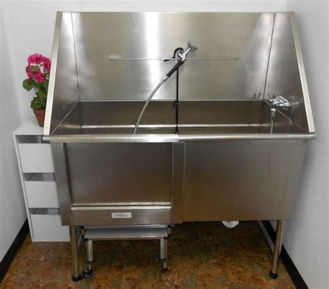 dog washing sink stainless mud room grooming sink used for meat processing oversized
