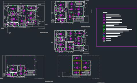 Electrical Layout House Autocad Cad