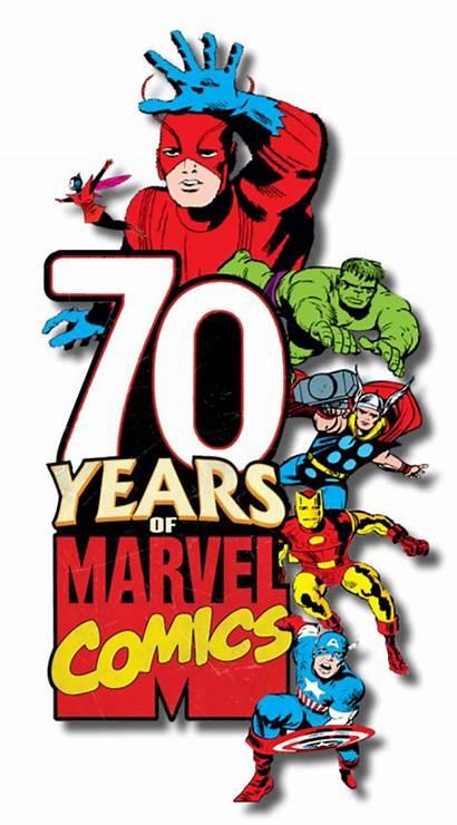 Marvel Comics Years Logosociety