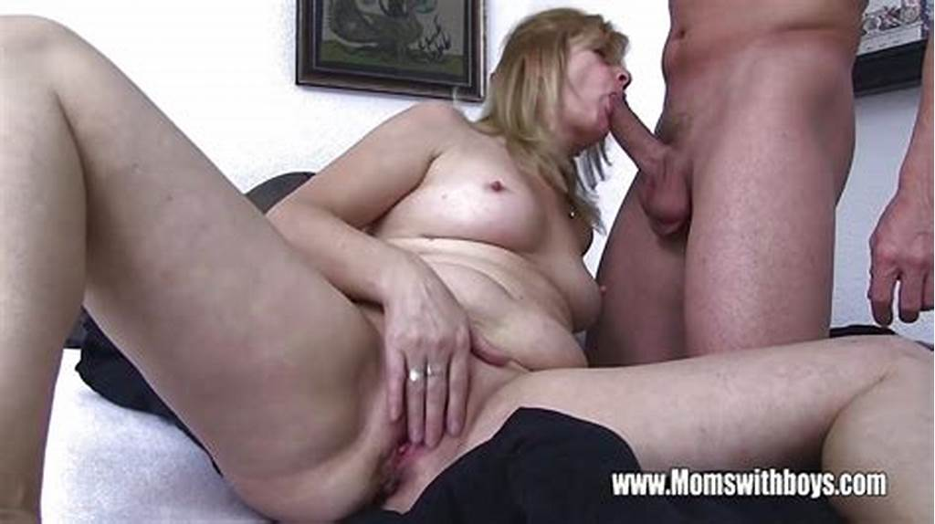 #Lucky #Stepson #Fucking #His #Blonde #Mature #Stepmom