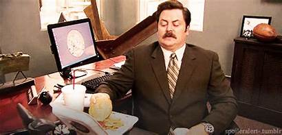 Swanson Ron Parks Lunch Working Desk Eat