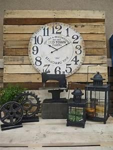 Deco Murale Vintage : la grande horloge murale en photos ~ Melissatoandfro.com Idées de Décoration