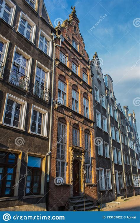 Facades Of Old European Buildings Stock Photo Image of