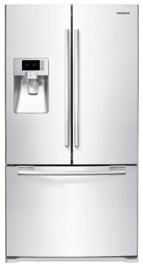 samsung cabinet depth refrigerator dimensions samsung door refrigerator 23 cu ft rfg237aawp sears
