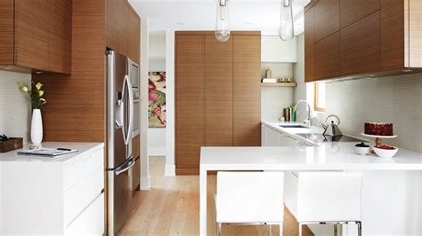 Contemporary Kitchen Interiors by Interior Design A Small Modern Kitchen With Smart