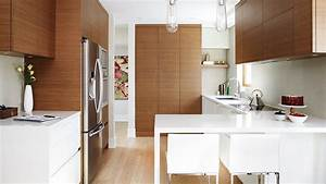 Interior design a small modern kitchen with smart for Interior designs of small kitchens
