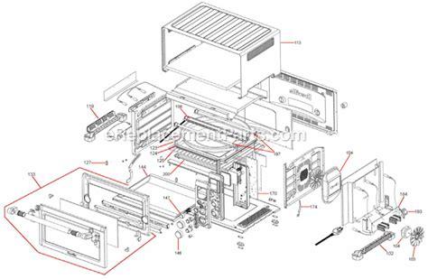 breville bovxl parts list  diagram