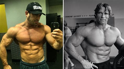 5 weightlifters with classic bodybuilding physiques