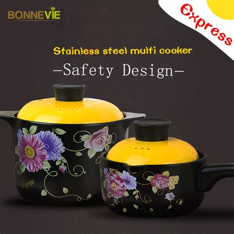 ceramic cooking pot heat marmite thermal kitchen cookware resistant tools pots casseroles stewing cooker garden