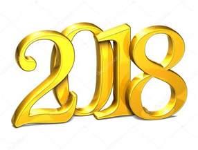 2018 New Year's Clip Art