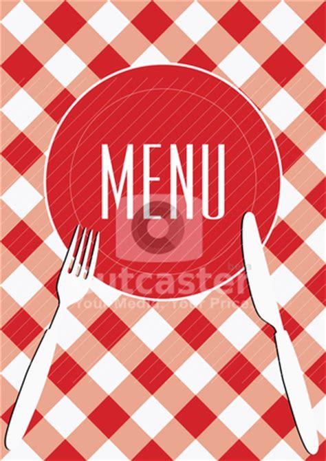 menu card background stock vector