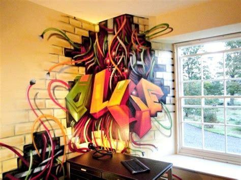 Graffiti Im Zimmer by 40 Coole Dekoideen Mit Graffiti Im Zimmer
