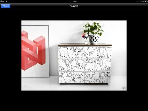 bureau ikea malm malm byrå från annons på blocket se ikea idéer