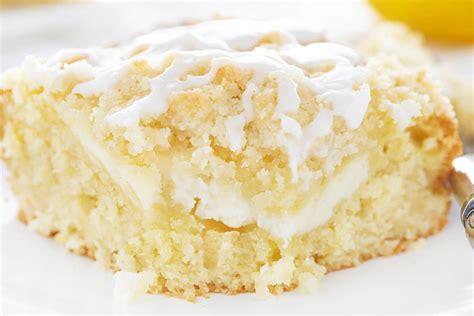 How to make lemon cream cheese pound cake recipe. Lemon Cream Cheese Coffee Cake | i am baker
