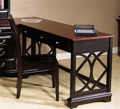 st ives writing desk in chocolate cherry finish by