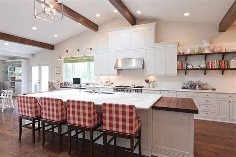 White and Taupe KItchen   Cottage   kitchen   HGTV