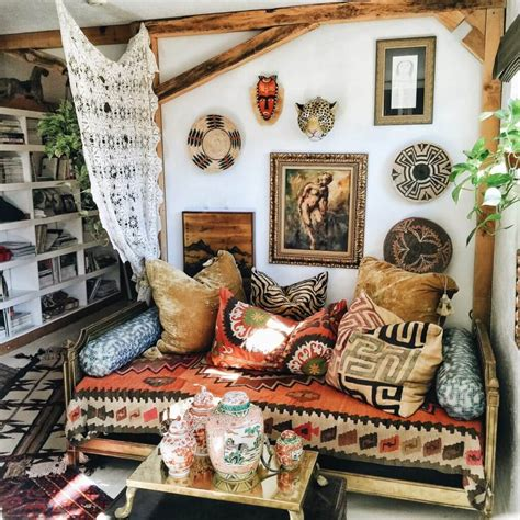 Bohemian Style House Object — HOUSE STYLE AND PLANS