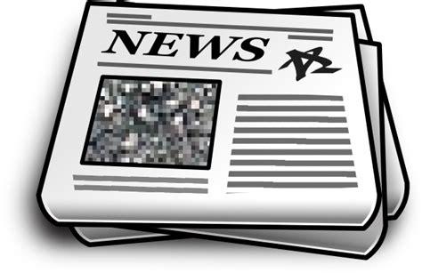 Newspaper Clipart Clipart Of Newspaper