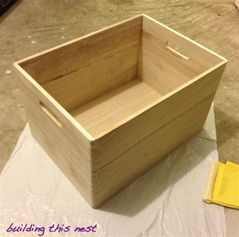 Happy Little Storage Box  Building This Nest
