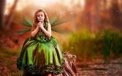 Butterfly Wallpapers Clothes Charming Wearing Desktop Faries