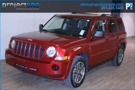 maroon jeep patriot find used 2010 jeep patriot sport burgundy 63k miles 4wd