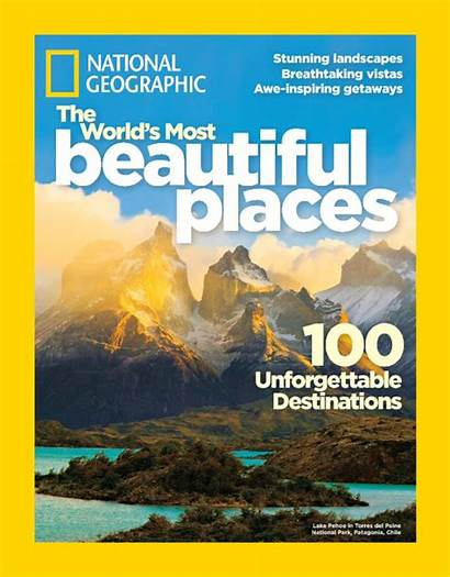 Geographic National Special Places Covers Paine Magazine