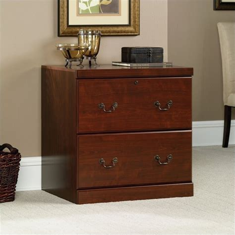 Sauder Lateral File Cabinet Wood sauder heritage hill 2 drawer lateral wood file classic