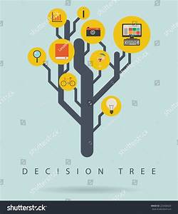Decision Tree Infographic Diagram Icons Vector Stock Vector 223468426