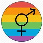 Transgender Icon Flag Lgbt Gender Rainbow Icons