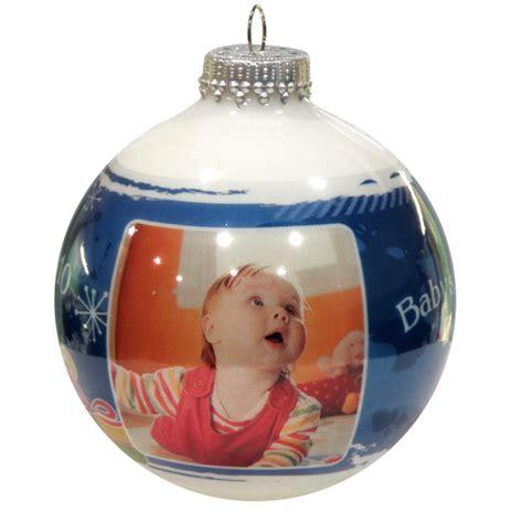 Personalized Photo Christmas Ornaments  Invitation Template