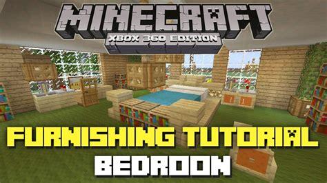 minecraft xbox  house furnishing tutorial bedroom youtube