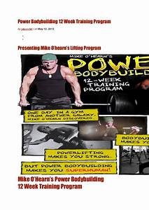 Strength Training Circuit Exercises  No Carb Diet Food List  12 Week Bodybuilding Program  Meal