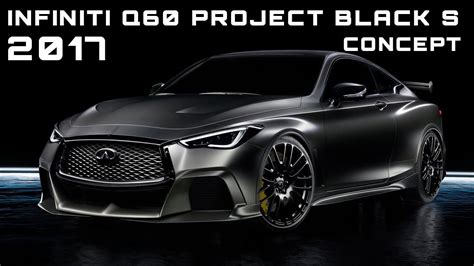 Infiniti Q60 Black S Release Date by 2017 Infiniti Q60 Project Black S Concept Review Rendered