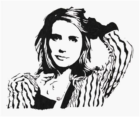 Emma Roberts Stencil , Png Download - Emma Roberts 1080p ...