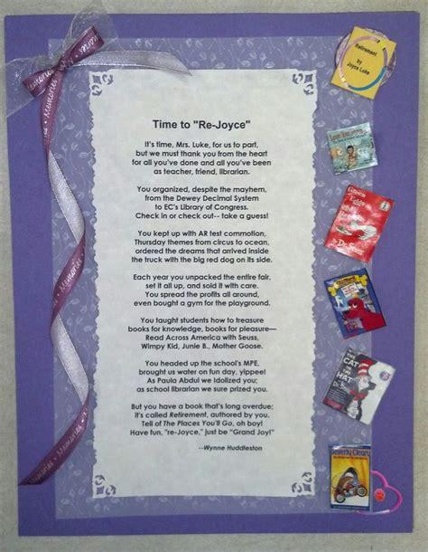 teacher retirement poem teacher retirement gifts