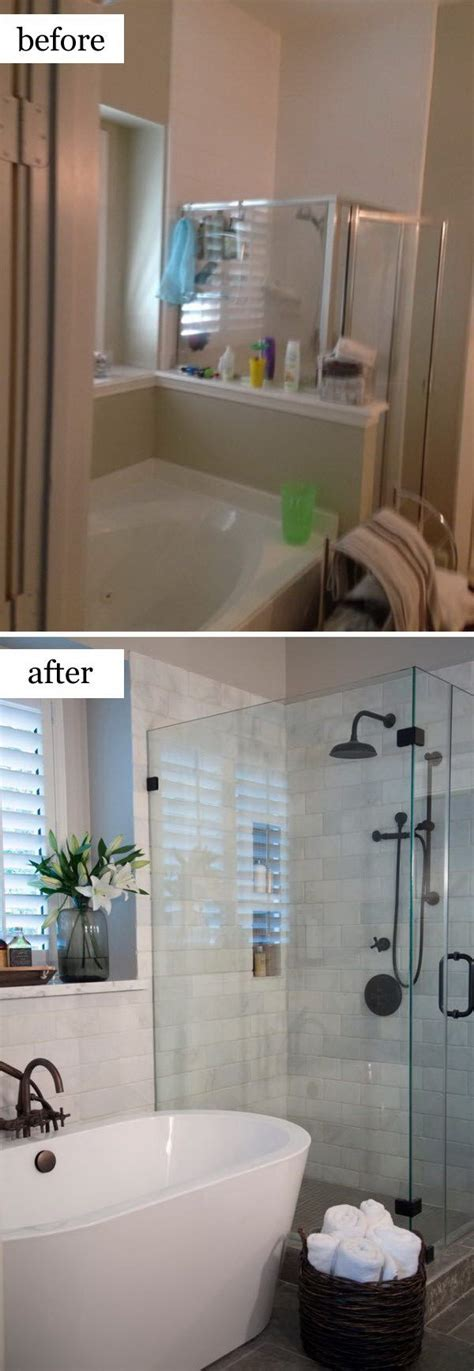 Most Beautiful Small Bathrooms by Before And After Makeovers 20 Most Beautiful Bathroom