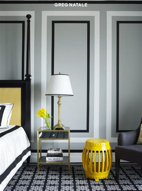 grey wall paint designs yellow and gray bedroom design ideas