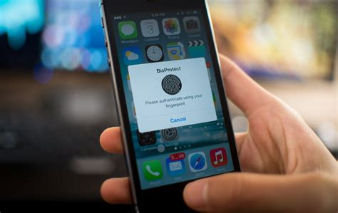 lock apps on iphone bioprotect lock apps with touch id fingerprint sensor of Lock
