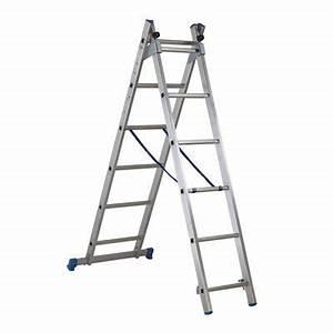 Echelle D Escalier : chelle d 39 escalier multiposition mac allister castorama ~ Premium-room.com Idées de Décoration