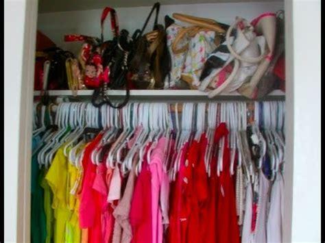 closet tour how i organize my clothes
