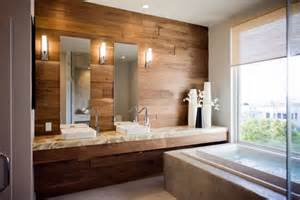 Wood Bathroom Wall Laminate