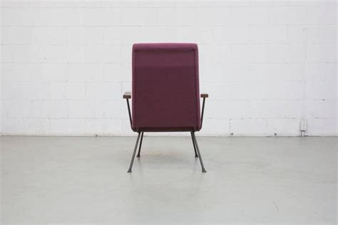 Gispen 1409 Highback Armchair In New Plum Fabric At 1stdibs